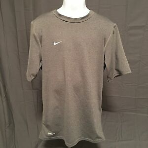 EUC Youth S Gray Nike Fit Dry T Shirt
