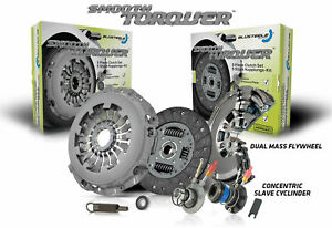 Blusteele Dual Mass Flywheel Clutch Kit for Volkswagen Transporter T4 ACV -SLAVE