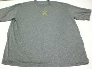 A5086 Mens NIKE FIT DRY Heather Gray WL BASEBALL SHIRT Polyester 3XL