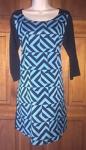 Black Rain Shift Dress M 34 Sleeves Casual Work Career Check My Other Items