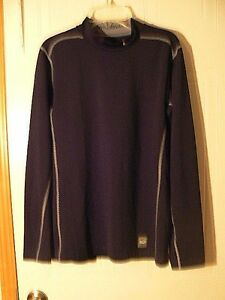 Men's Nike Pro Combat Dry Fit Long sleeve fitted shirt size Small