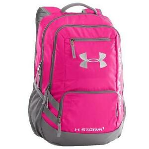 Under Armour Hustle Backpack II in Tropic Pink GraphiteWhite 1263964-654
