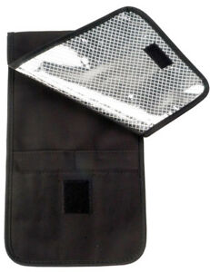 Silver Bullet Heat Resistant/Protector Pouch For Hair Straightener