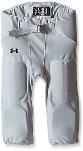 Under Armour Boys' Mpz TD Football Pants Gray Youth Large