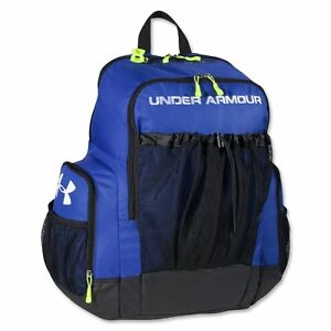 Under Armour Striker Soccer Backpack Royal Size One Size