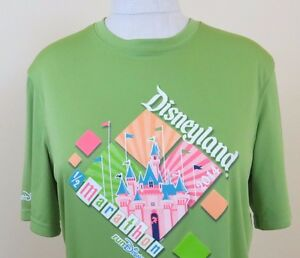 Disneyland 12 Marathon 2014 Run Disney Champion Double Dry Women's Shirt Size S