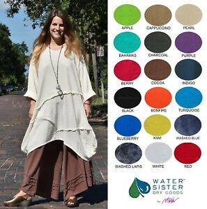 WATERSISTER Cotton Gauze DIVA Tunic Balloon Top 1(MLXL) 2(1X2X) 2018 COLORS