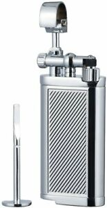 Antique Style Lift Arm Tobacco Pipe Cigarette Butane Lighter with Tamper amp; Pick $17.99