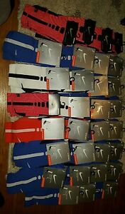 NWT Lot of 30 Med..... Nike Elite Cushioned Dri-fit Basketball Socks Size 6-8!