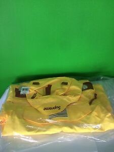 Supreme x The North Face Trans Antartica Expedition Pullover Jacket Yellow Small