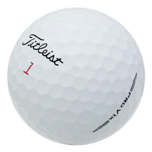 120 Titleist Pro V1X Mint Recycled Used Golf Balls