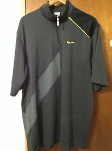 Nike Fit Dry Air Force 23 Men's Black Athletic Top Shirt Size XL