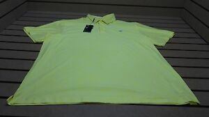 Under Armour Golf Loose UPF 30 Polo Mens XXL Heather Yellow WLogo 16A