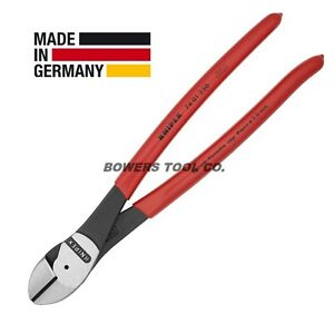 Knipex 10quot; Diagonal Cutters High Leverage Cutting Pliers 7401250 $44.60