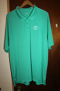 Under Armour Mid Pacific Country Club Lanikai Men's Green Polo Shirt Size 2XL