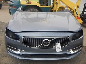 2017 Volvo S90 Front End Clip Nose Inscription 2.0L Turbo Supercharged IIHS NTO