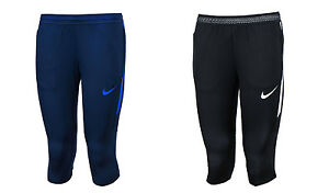 NIKE AS Dri-Fit Strike 34 Pants 807689-429 807689-013 Soccer Training Shorts