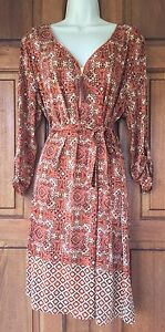 tacera dress XL Long Sleeves Above Knee Career Wear Or Casual Dressy Shift