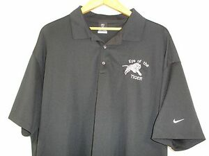 Nike Golf Fit Dry Short Sleeve Polo Golf Shirt Black 3XL NWOT