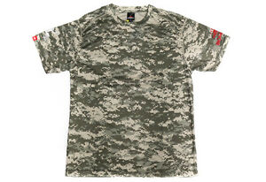Sale Bombada T-Shirt Giant Snakehead Dry Fit Short Sleeve Size XL ACU (4158)