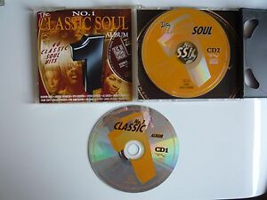 Various Artsts The No.1 Classic Soul Album 1995 Double CD Collection Motown Stax