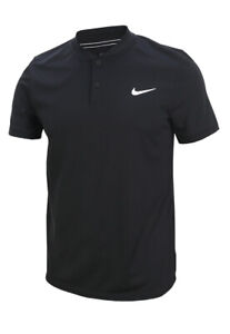 NIKE Court Dry Polo Solid SS Top 830848-100 Tennis Golf Dri-Fit Casual T-shirts