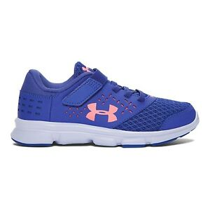 Under Armour Kids' Girls' Gps Rave RN AC Running Shoe Little Kid (4-8 Years)