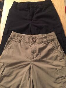 Lot 2 Pair Youth Boys UNDER ARMOUR Loose Golf Shorts YSM Small 8