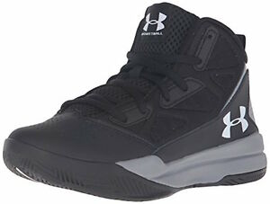 Under Armour Boys'  Jet Mid Basketball Shoes All Sizes NIB