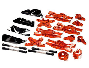 T8695RED Integy Billet Suspension Kit for HPI 110 Bullet MT & Bullet ST