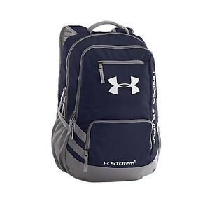 Under Armour Storm Hustle II Backpack (One Size Midnight Navy)