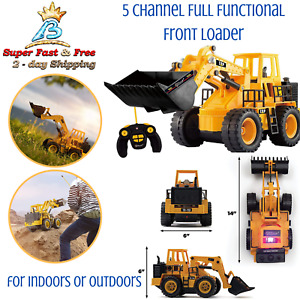 Remote Control Construction Toys Toy Tractor Loader Electric Toys For Boys Age 7 $55.50