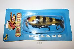 Cisco Kid Topper #735 Tiger Stripe Fishing Lure (Suick made)