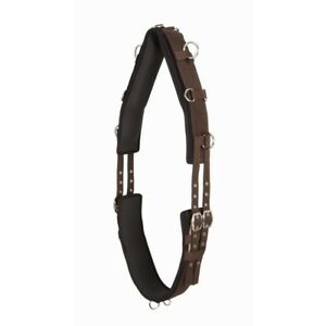 Performers 1st Choice PVC Nyloprene Adjustable Lunging Surcingle - Horse