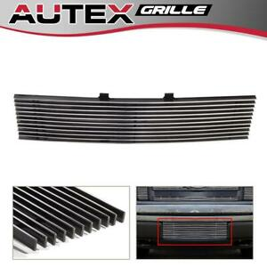 AUTEX Chrome Billet Grille Grill fits 09-14 Ford F-150 F150 Pickup -Lower Bumper