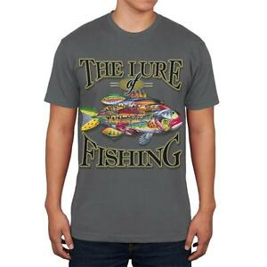 The Lures of Fishing Mens Soft T Shirt