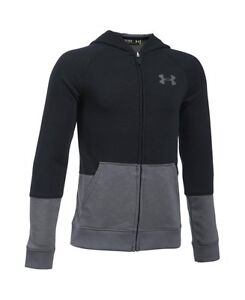 Under Armour Boys Sportstyle Iso Full Zip Basketball Hoodie 1289999-001