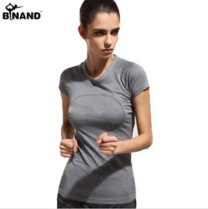 New Quick Dry Shirt Gym Yoga Women Running Top Fitness Sports Tank Athletic