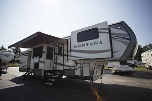 Fifth Wheel Montana 3730FL RV Camper New and Used Travel Trailers For Sale