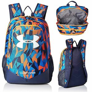 Under Armour Boys' Storm Scrimmage Backpack Mako BlueMidnight Navy One Size NEW