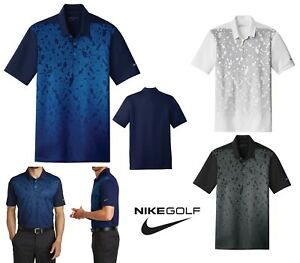 MEN'S NIKE CAMO FRONT DRI FIT WICKING LIGHTWEIGHT POLO SHIRT GOLF S-4XL