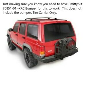 Smittybilt 76851-02 -XRC Swing-Away Tire Carriers Rear for Jeep 35