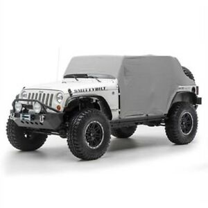 Smittybilt 1069 Cab Cover With Door Flap Water Resistant For 07-15 Jeep JK
