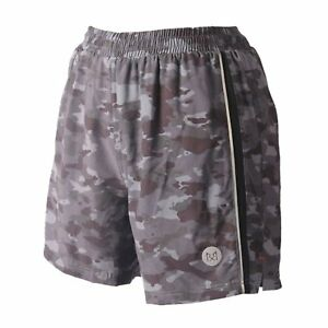 Rabrgab Men's Light Weight Woven Running Short Nylon 2 in 1 Liner Sports Dry Fit