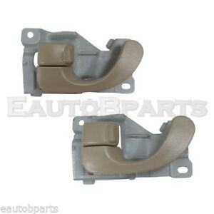 Front,Left,Right Pair DOOR INNER HANDLE For Mitsubishi Mirage,Lancer,Galant