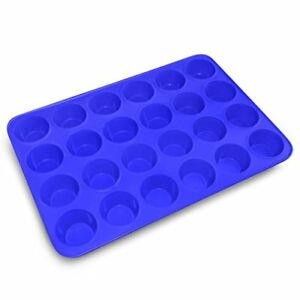 Silicone Baking Molds From BakeStar - 24 Cup Round Shape - Super Premium Quality