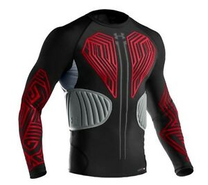 Under Armour MPZ Ultra Compression Second Skin Long Sleeve Hockey Top 2XL Men DS