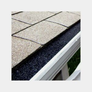 GutterStuff GUTTER GUARD Polyester Foam Insert Blocks Roof Leaves amp; Debris 4 Ft $17.59