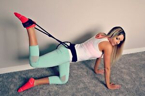 The Asset Fitness Exercise Bands for Glute Muscles and Full Body Resistance