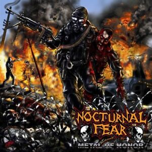 Nocturnal Fear Metal of Honor New CD $15.10